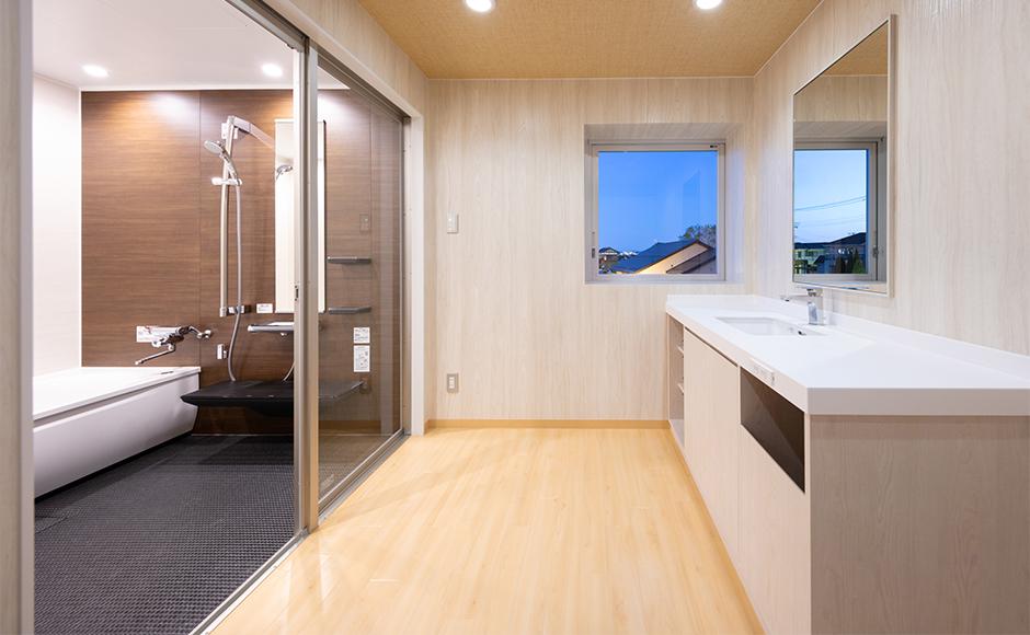 分娩室のお風呂